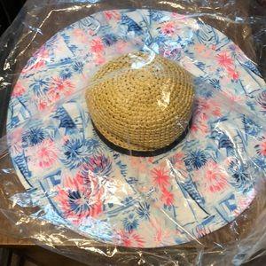 Lilly Pulitzer sun beach floppy hat